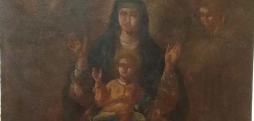 Itri / Restaurato antico quadro della Madonna della Civita