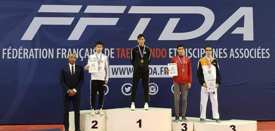 Minturno / Taekwondo, bronzo per Giovanni Imparato ai French Open 2018
