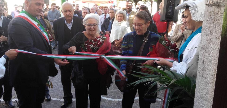 """Castelforte / Inaugurato il Centro socio-culturale """"Vittorio Foa"""" (video)"""