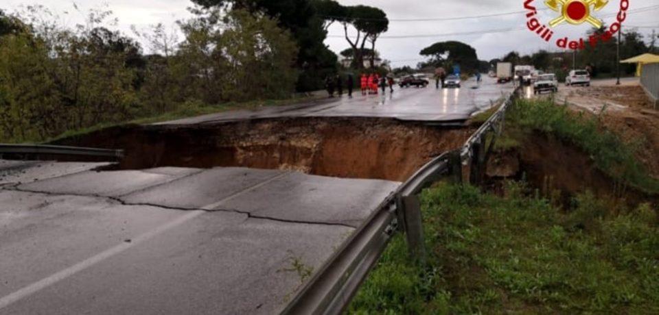 Terracina / Si apre una voragine sulla Pontina: un disperso