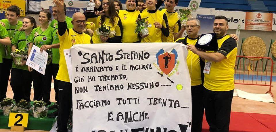 Spigno Saturnia / Gli Arcieri di Santo Stefano si aggiudicano la Coppa Italia Giovanile 201