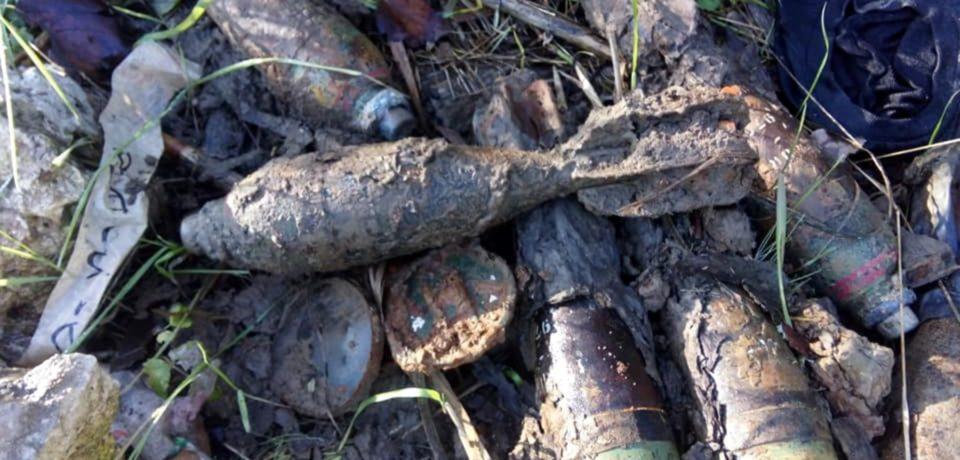 Minturno / Rinvenute sette bombe da mortaio al Garigliano