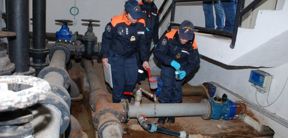 Ventotene / Dissalatore, controlli del Reparto Ambientale Marino della Guardia Costiera