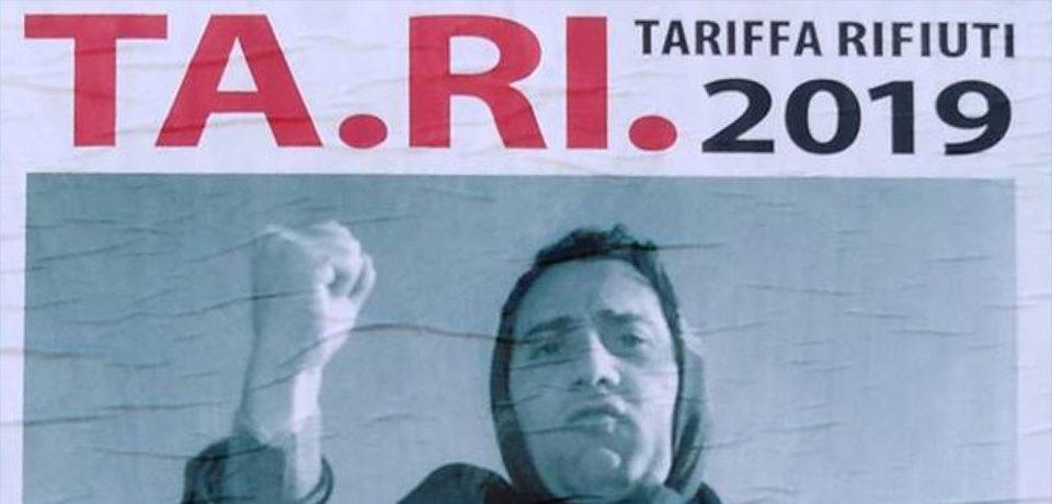 Gaeta / Aumento della tassa sui rifiuti, affisso un manifesto di protesta