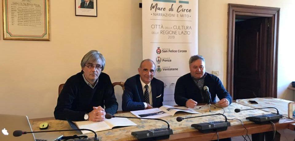 """Presentato il progetto """"Città della Cultura 2019"""" per San Felice Circeo, Ponza e Ventotene"""