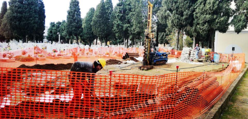 Gaeta / Cimitero: iniziati i lavori di costruzione di 240 nuovi loculi e 80 cellette ossari