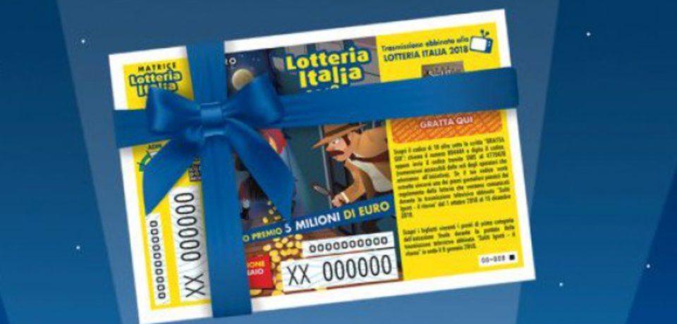 Lotteria Italia 2019, i biglietti vincenti: a Minturno vinto premio da 25mila euro