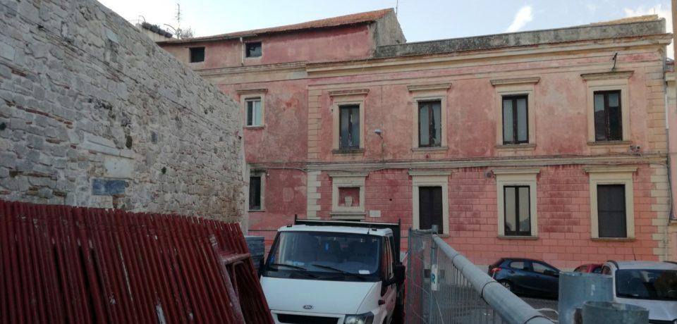 Gaeta / Iniziati i lavori di recupero dell'edificio in via Pio IX a sostegno delle fasce sociali più deboli