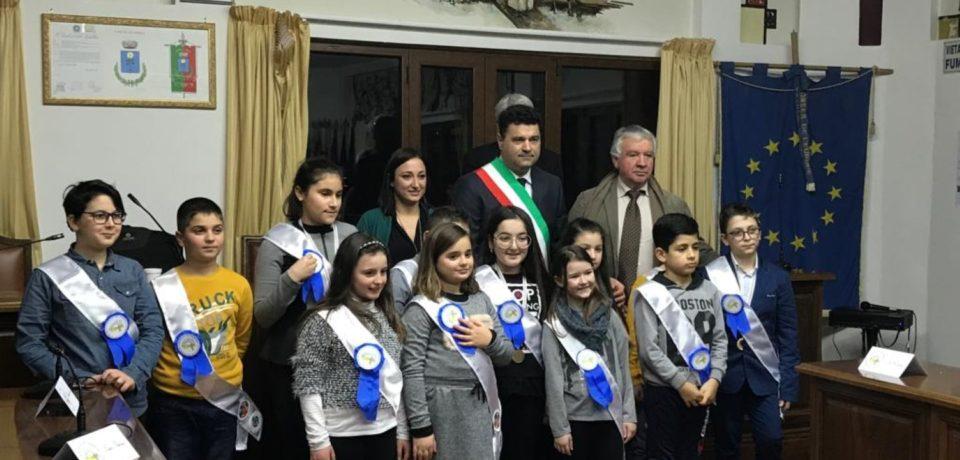 Lenola / Insediato il Consiglio comunale delle bambine e dei bambini