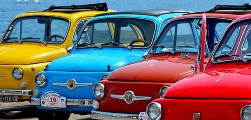 """Sperlonga / Domenica il """"500 Day"""", sfilata di vetture storiche"""