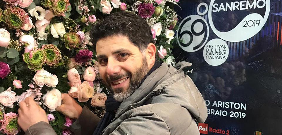 Scauri / Ciro Savino nel team di fiorai della 69^ edizione di Sanremo