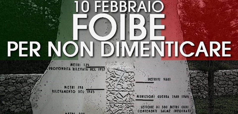 """Minturno / Foibe, CasaPound: """"Poca attenzione da parte del Comune, nessun evento pubblico"""""""