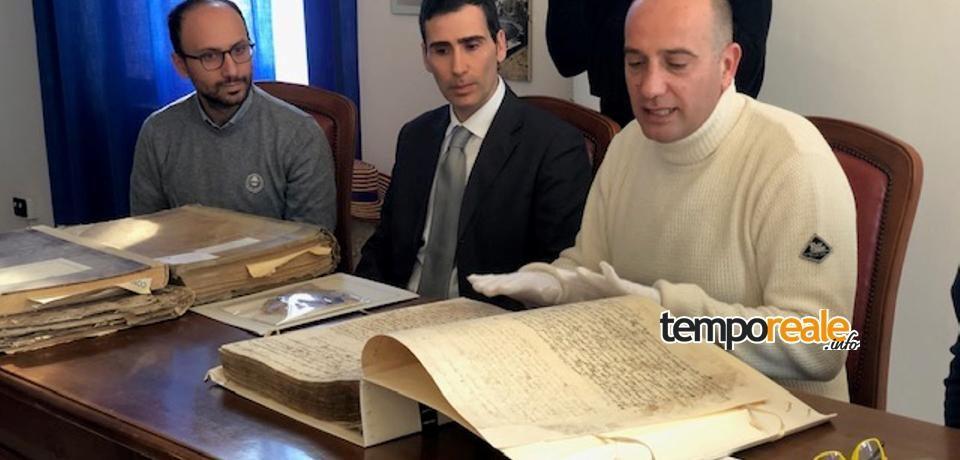 Minturno / Manoscritto del 1700 ritrovato in Comune, presentato il restauro (video)