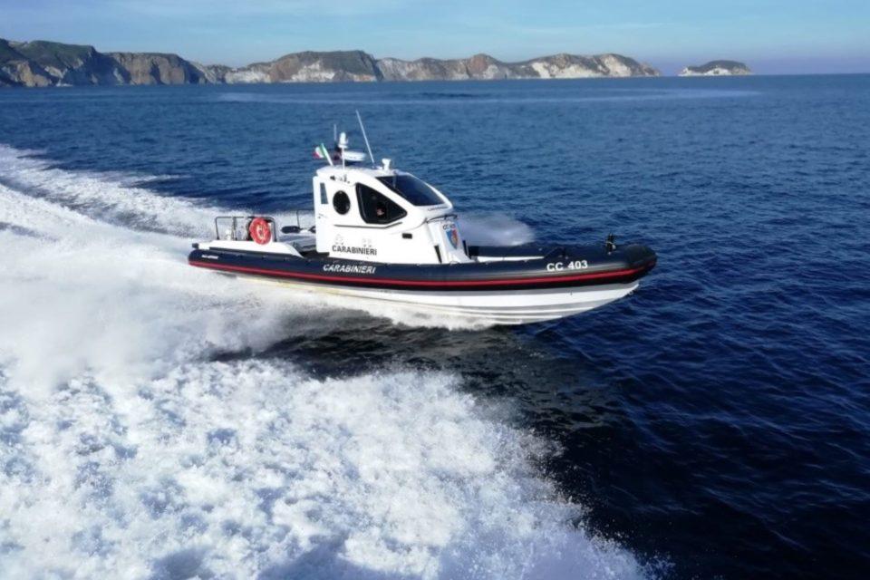 Ponza / Controlli dei carabinieri: accertate violazioni alle norme di navigazione
