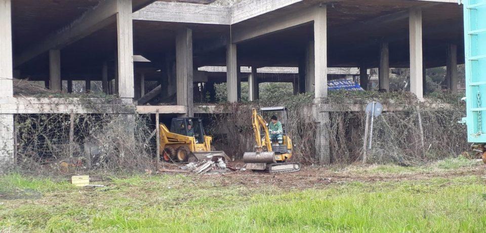 Formia / Completata la bonifica del rudere Ex Gil del Parco De Curtis