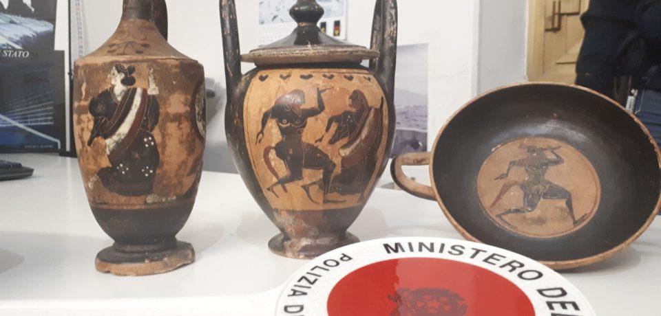 Gaeta / Rinvenuti reperti archeologici di cultura greca risalente al 500 a.C.