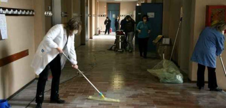 Sbloccato l'appalto per le pulizie nelle scuole di Latina e Frosinone