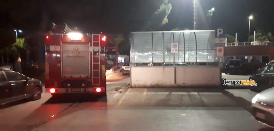Formia / Forte esplosione nel parcheggio interrato di Largo Paone, ma è un petardo