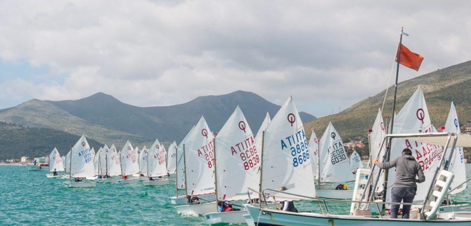 Vela, 120 imbarcazioni alla Zonale Optimist: successo organizzativo del Circolo Caposele