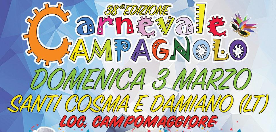 Carnevale Campagnolo, grande attesa per la 38^ edizione a Santi Cosma e Damiano