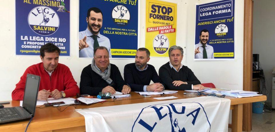 """Formia / Il gruppo consiliare della Lega: """"Maggioranza chiusa a riccio, preoccupati per questo bilancio"""" (video)"""