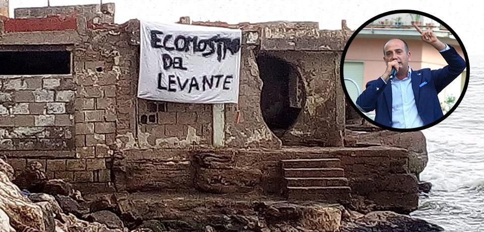 """Minturno / Ecomostro al Levante, Stefanelli: """"Ci accolleremo i costi dell'abbattimento"""""""