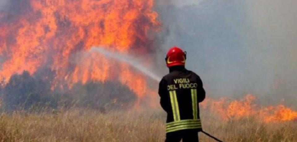 Castelforte / Anziano denunciato per incendio colposo