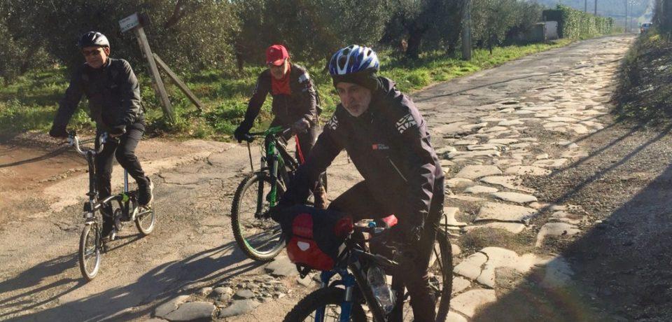 """Appia, """"La Gran Via in bici"""" passa anche per Terracina e Minturno"""
