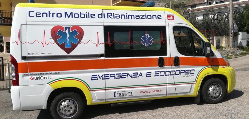 """Spigno Saturnia / Nuova ambulanza per l'Associazione """"Emergenza e Soccorso"""""""