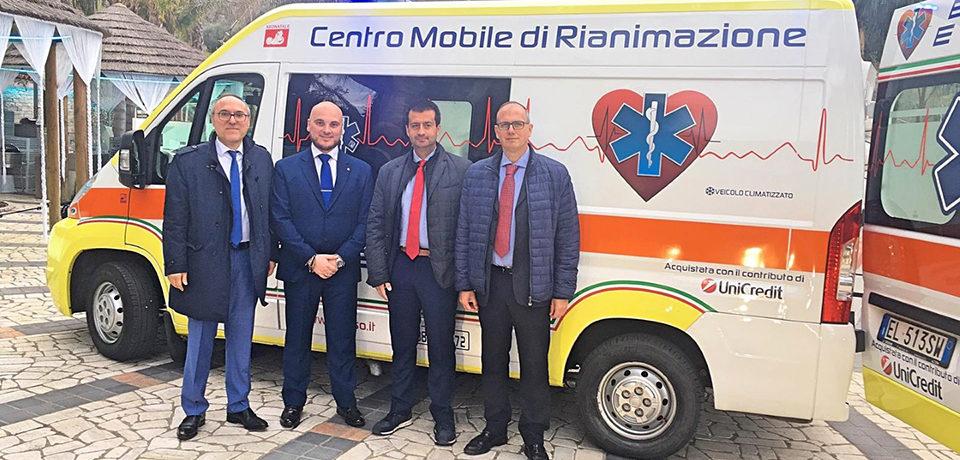 """Spigno Saturnia / Consegnata un'ambulanza all'Associazione """"Emergenza e Soccorso"""" [VIDEO]"""