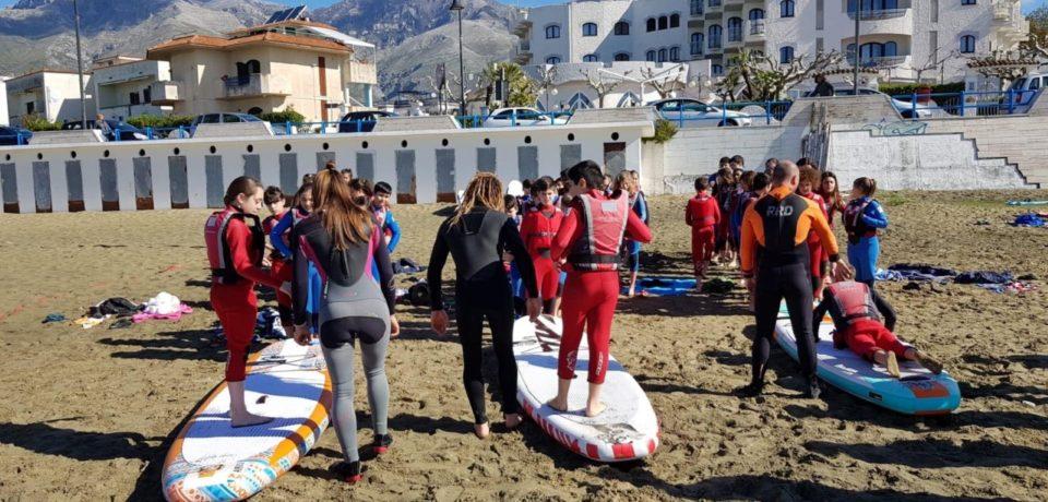 """Formia / Partito il progetto turistico-sportivo """"Un'aula tra Storia, Vento e Mare"""""""