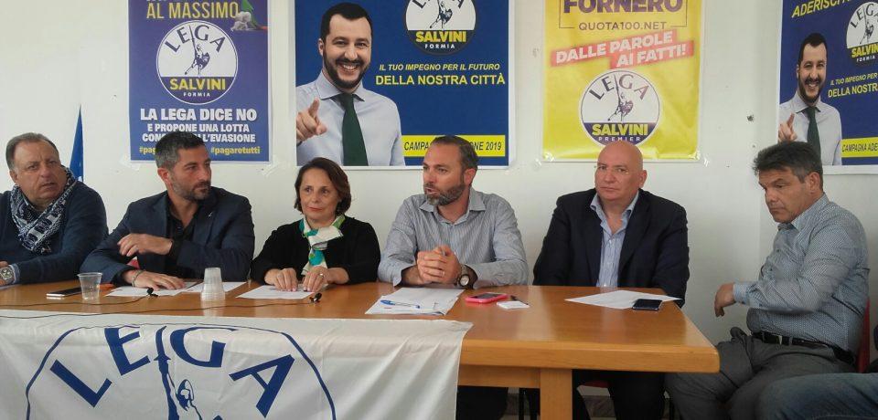 Formia / Nasce il Governo Ombra della Lega per vigilare sull'amministrazione Villa [VIDEO]