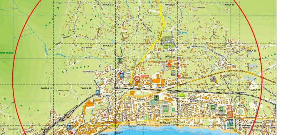 Emergenza bomba a Formia: Gaeta si prepara ad accogliere i formiani evacuati