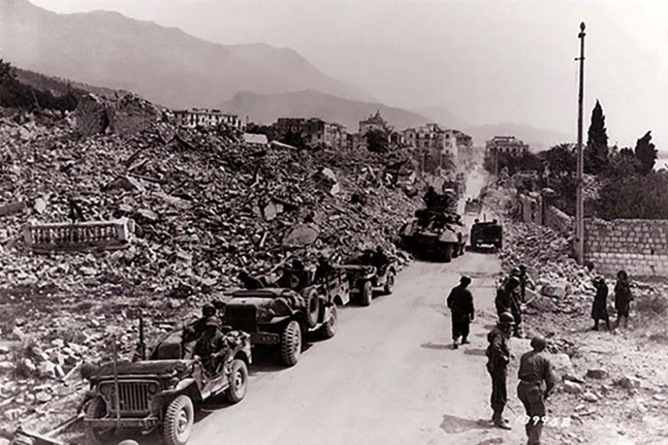 Formia non ricorda il giorno della sua liberazione dall'invasione tedesca