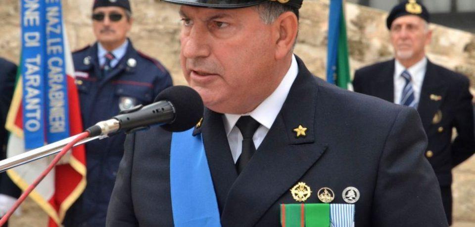 """Ponza / All'Ammiraglio Salvatore Vitiello il """"Sigillo di Ateneo"""" dell'Università di Bari"""