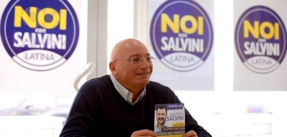 Chiusura della campagna elettorale per le Europee della Lega del sud pontino