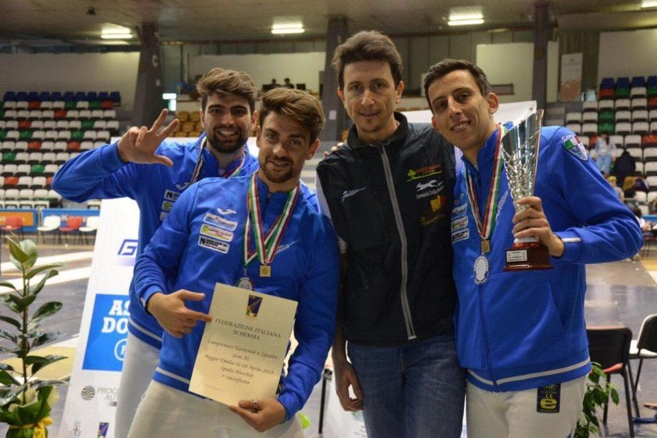 Formia / Scherma, il club formiano torna in serie A/1 di spada maschile [VIDEO]
