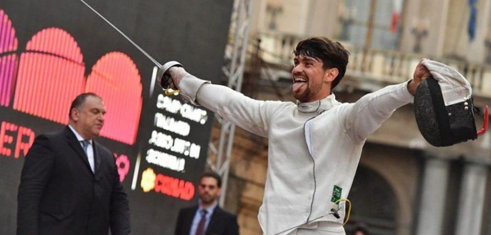 Formia / Andrea Russo nuovo campione italiano agli assoluti di scherma
