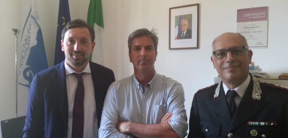 Sabaudia / Intimidazione ai Carabinieri Forestale, visita di Trano