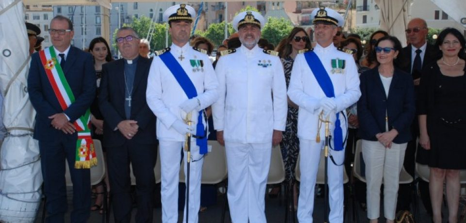 Gaeta / Cambio al vertice della Guardia Costiera: Federico Giorgi è il nuovo comandante [VIDEO]