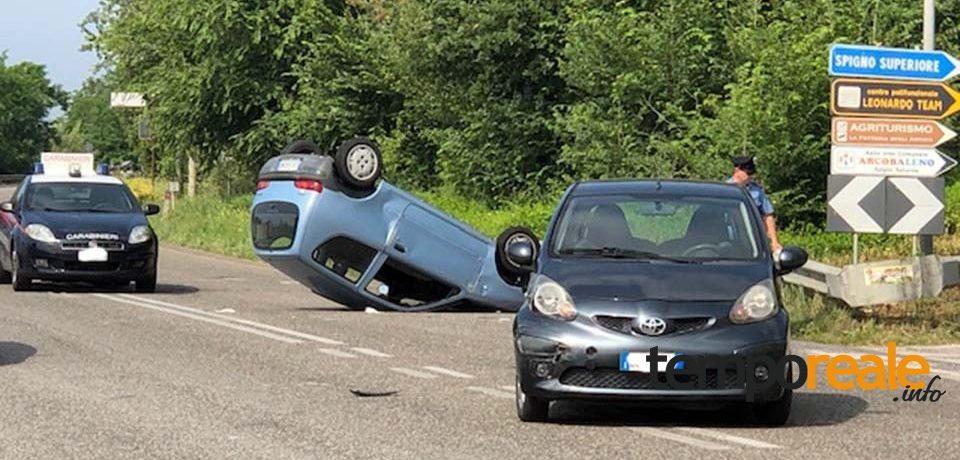 Incidente sulla superstrada Formia-Cassino: auto si ribalta tra Minturno e Spigno Saturnia