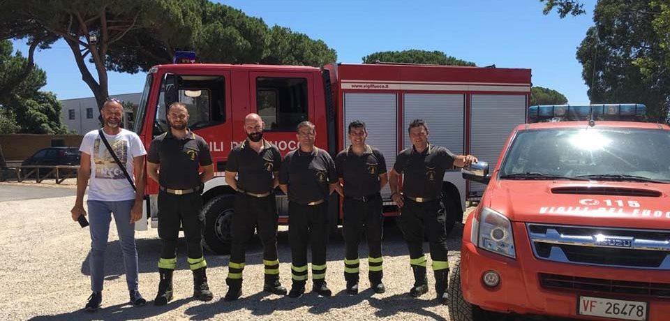 Sabaudia / Campagna antincendio boschivo: attivato il presidio dei Vigili del Fuoco