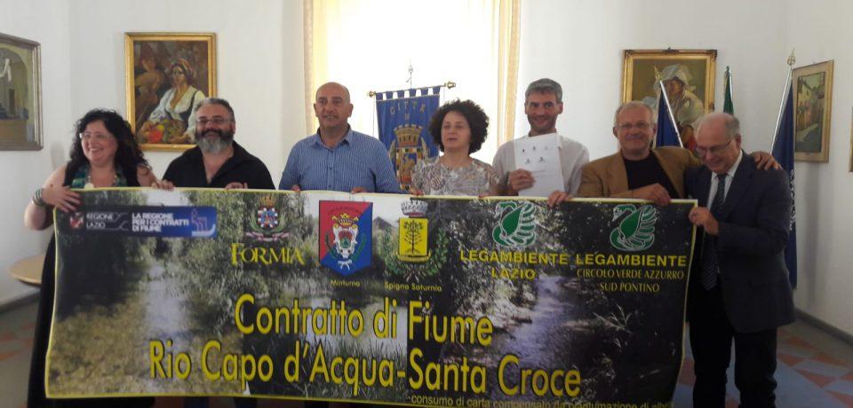 Contratto di fiume Rio Capodacqua-Santa Croce finanziato dalla Regione Lazio