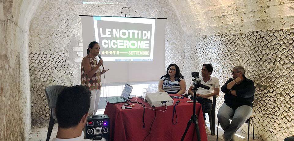 """Formia / Tornano le """"Notti di Cicerone"""", presentata la 5^ edizione [VIDEO]"""