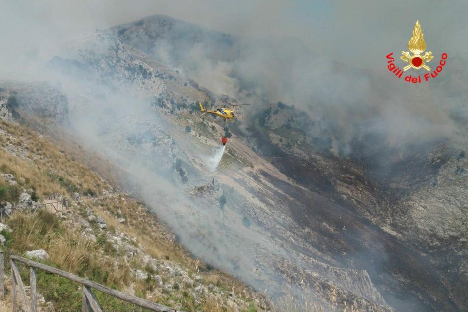 """Formia / Incendi nel sud pontino, il bilancio. L'Ente Parco Monti Aurunci: """"Servono più risorse"""""""