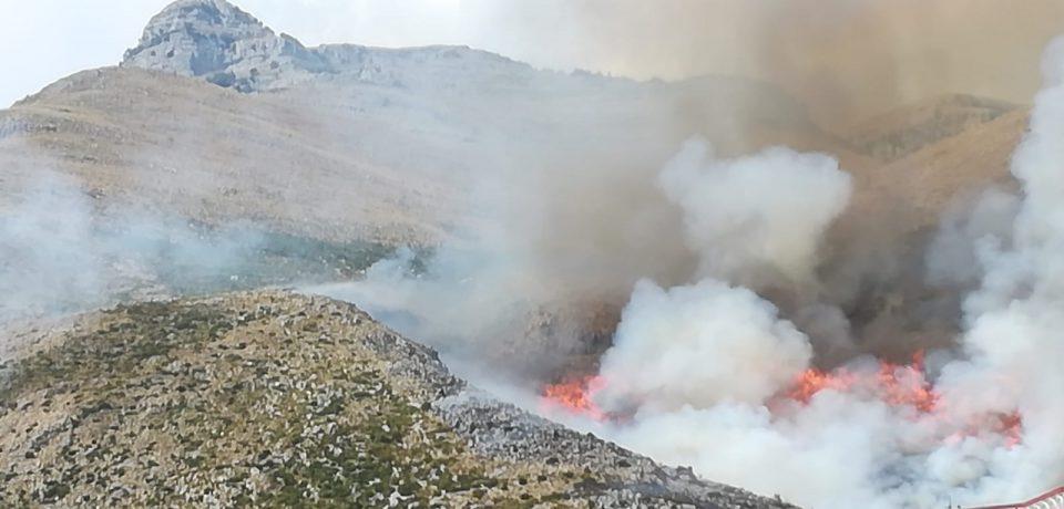 Sud pontino in fiamme: incendi a Fondi, Itri e Formia