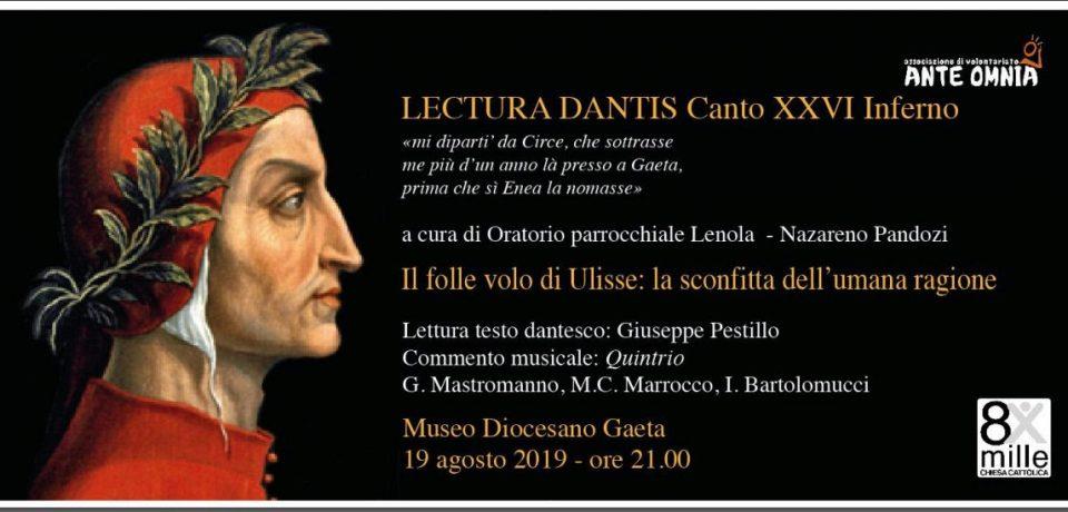 Gaeta / Lectura Dantis al Museo diocesano