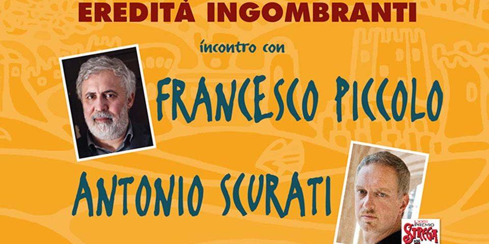 Gaeta / Libri sulla cresta dell'onda, ospiti i Premi Strega Antonio Scurati e Francesco Piccolo