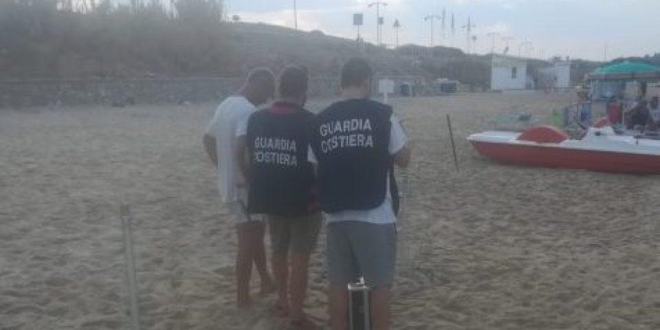 Occupazione abusiva di spiaggia libera, Guardia Costiera in azione a Gaeta, Scauri e Sperlonga