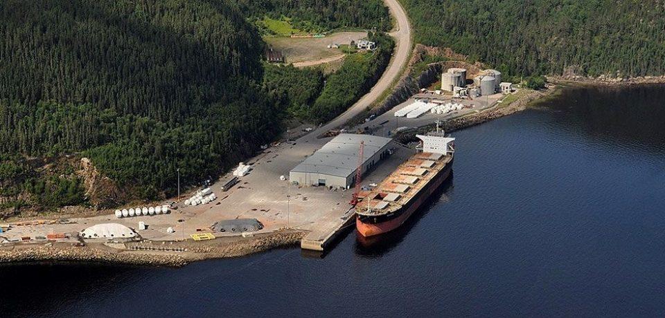 Intergroup e Pellet My Fire, avviata la linea commerciale navale tra Canada e Gaeta
